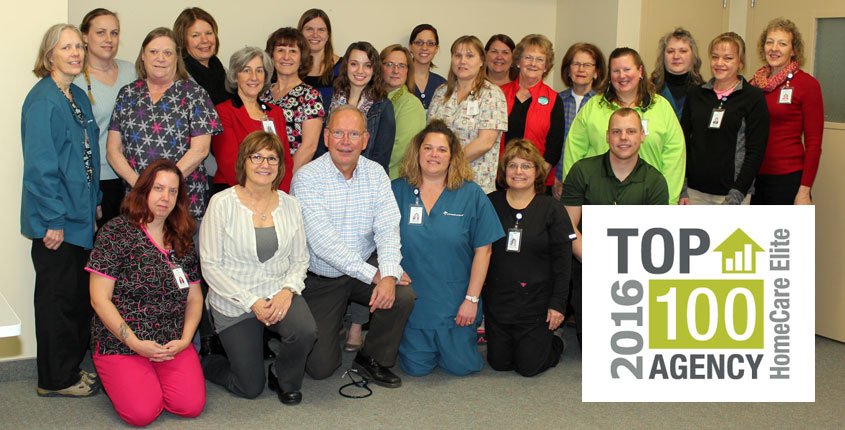 CHI Health at Home Named to Top 100 of the 2016 HomeCare Elite