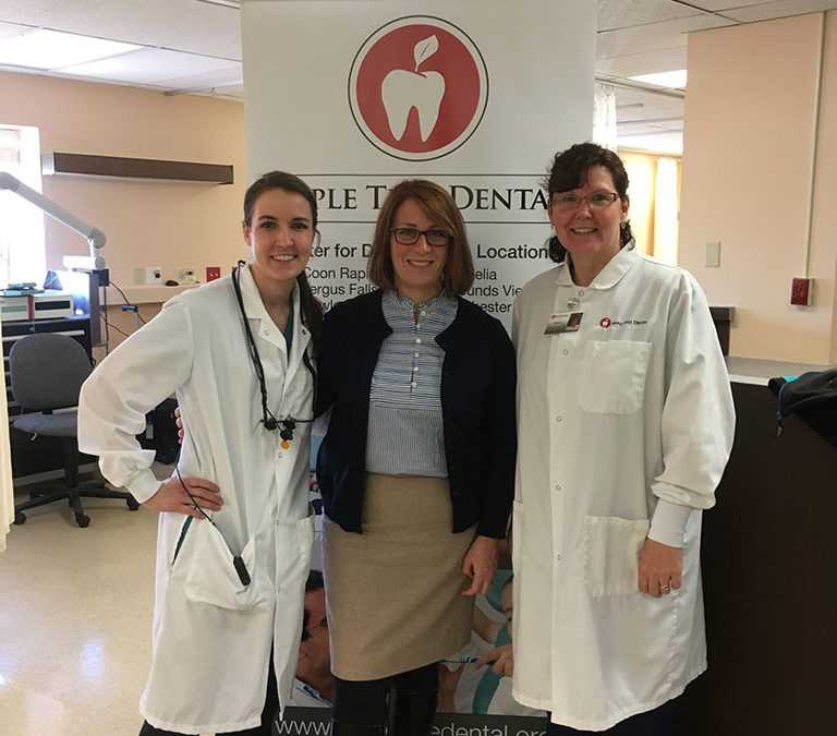CHI St. Gabriel's Health and Apple Tree Dental collaborate to improve oral health access