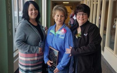 Jane Schneider, Registered Nurse in Surgical Services, was named the CHI St. Gabriel's Health 2018 Francis Award Recipient
