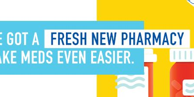 Introducing St. Gabriel's Pharmacy. Now Open!