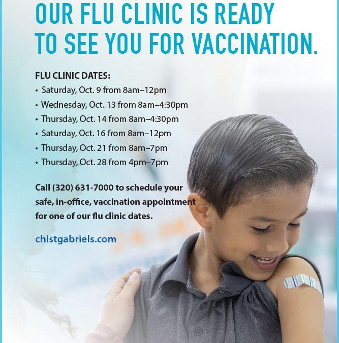Flu Vaccination Clinic Dates